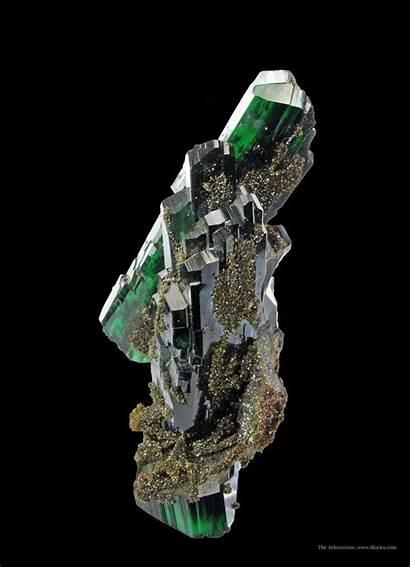Mineral Crystals Geology Minerals Pyrite Vivianite Specimen