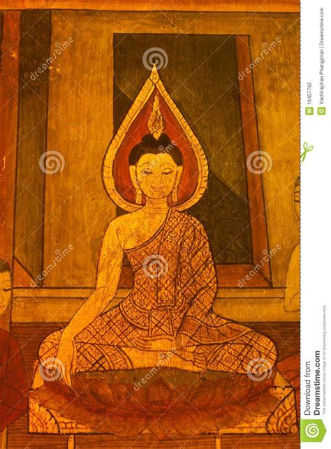 pattern thai art  temple walls stock photography