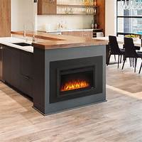 "built in electric fireplace 24"" NEFB24HG Built In Electric Fireplace 
