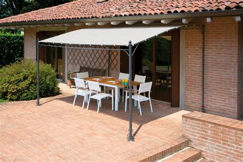 gazebo da terrazzo prezzi gazebo pergola 4x3 giardino terrazza top design telo