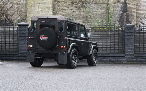 2014 Kahn Land Rover Defender Back View Wallpaper Car