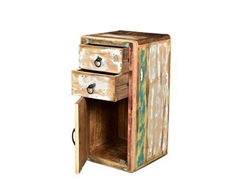 Badezimmermöbel Bunt by Woodkings 174 Bad Unterschrank Kalkutta Recyceltes Holz Bunt