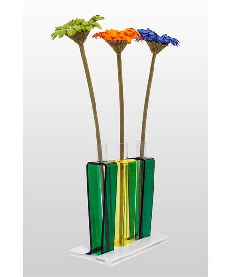 vasi in plexiglass trio di vasi in plexiglass e vetro
