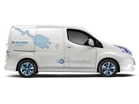 Nissan E Nv200 Concept Minivan