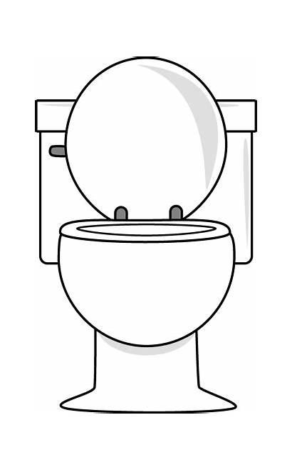 Toilet Lid Bathroom Clip Graphics