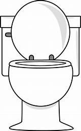 Toilet Lid Clip Graphics Bathroom sketch template