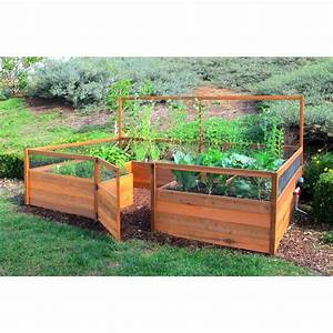 Raised garden beds ideas for growing images for Raised cedar garden bed