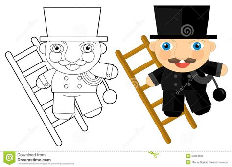 Little Cartoon Boy With Toys Stock Vector