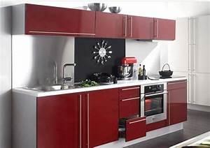 Cuisine Saga But : cuisines rouges s lection des plus beaux mod les du moment ~ Dallasstarsshop.com Idées de Décoration