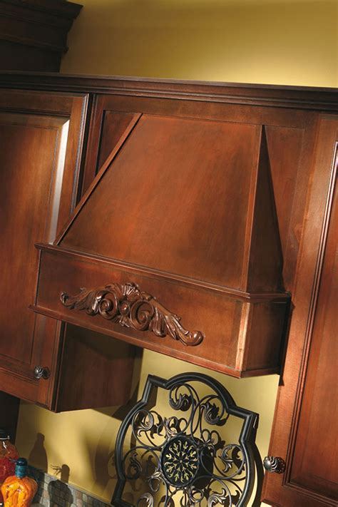 Tapered Wood Hood   Aristokraft Cabinetry