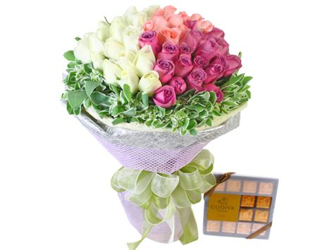 Love Boat Ice Cream Gift Card by Florist Flower Bouquet Tri Flavor Ice Cream Cone Bouquet