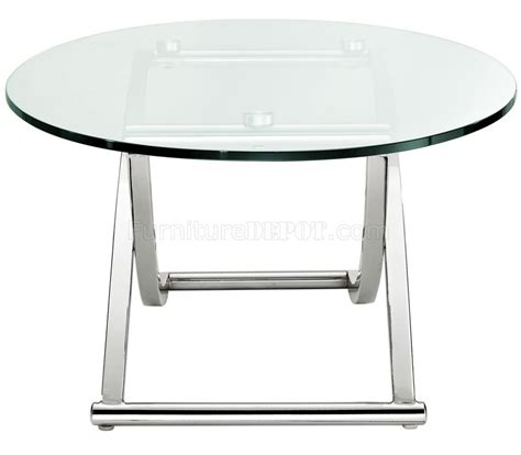 Criss Cross Coffee Table Wglass Top By Modway