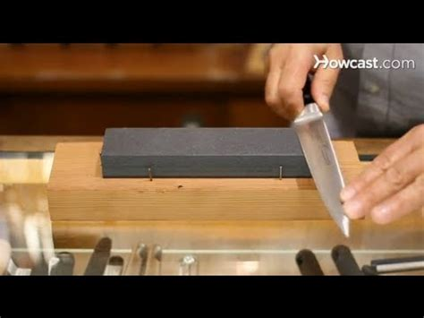 sharpening stone knives youtube