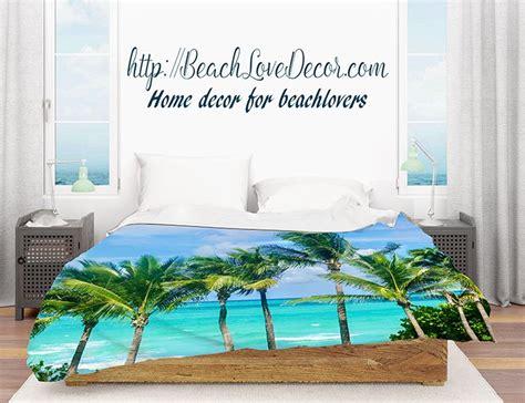 miami palms duvet cover tropical duvet cover  sizes