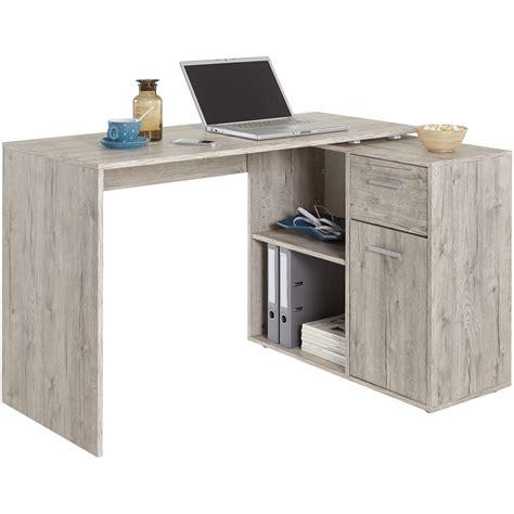 bureau gris bureau albrecht chêne gris acheter en ligne emob