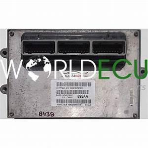 Ecu Engine Controller Jeep Grand Cherokee 4 0 Motorola 06a0100r6twb  P56041 893aa  P56041893aa