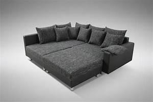 Eckcouch Mit Hocker : modernes sofa couch ecksofa eckcouch in schwarz eckcouch mit hocker minsk l polsterm bel sofa ~ Eleganceandgraceweddings.com Haus und Dekorationen