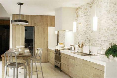 cuisine rustique et moderne déco maison rustique moderne