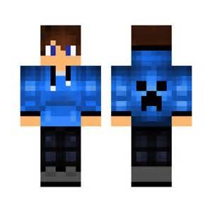 Hoodie Boy Minecraft Skin Layout
