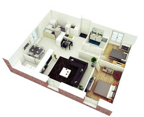 contoh denah rumah minimalis  dimensi  kamar tidur