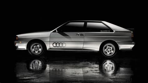 Audi Quattro (ur-quattro, B2, 1980-1991)