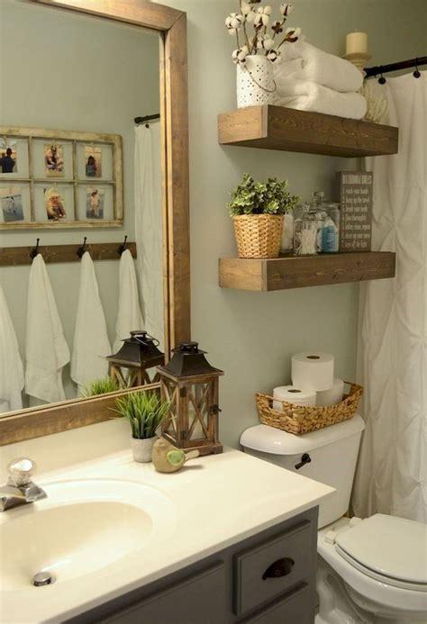 nice  rustic farmhouse small bathroom remodel  decor
