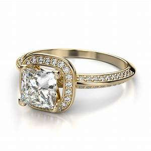 yellow gold princess cut wedding rings beautiful and With princess diamond wedding ring