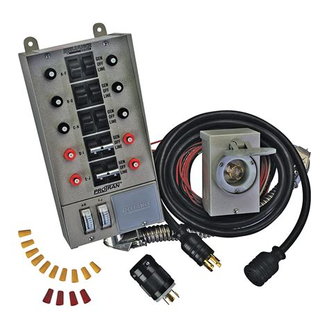 Wiring A Reliance Transfer Switch by Reliance Transfer Switch Kit 10 Circuit Model 31410crk