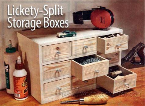 small storage boxes plans woodarchivist