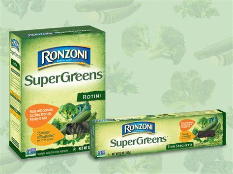 Ronzoni®  Ronzoni Supergreens™  The Pasta That Calls