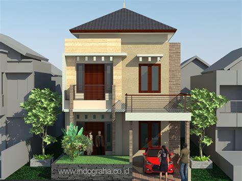 desain  renovasi rumah minimalis  perumahan pesona