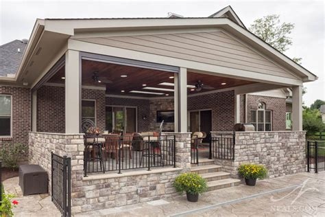 Back Porch Designs For Houses by Back Porch Extension 171 Neals Design Remodel
