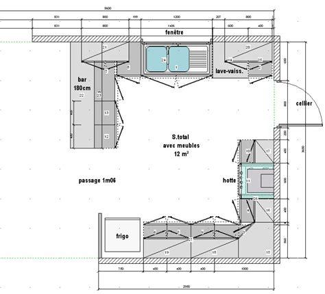plan cuisine ouverte plan cuisine ouverte plan de maison en u cuisine blanche