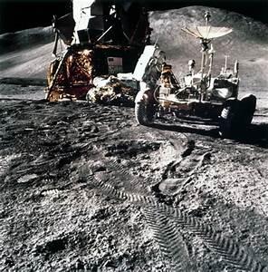 Apollo 15 astronaut James Irwin on the Moon, 1971. by NASA ...