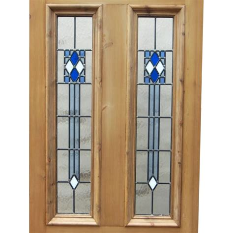 deco front door deco 4 panel stained glass door period home style
