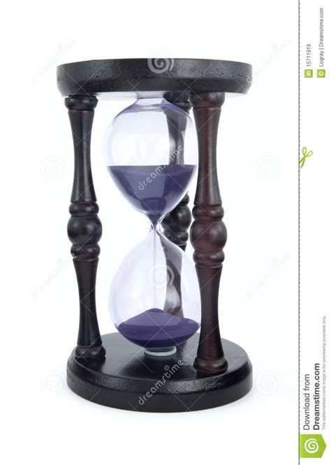 fashioned hourglass royalty  stock images image