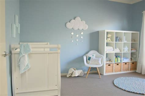 chambre bebe bleu gris chambre bleu et gris idées déco en tons neutres et froids