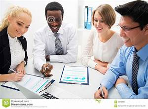 Business People Working Together. Stock Photo - Image ...