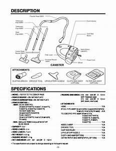 Lg Vacuum Cleaner Service Manuals And Schematics  U2014 Repair