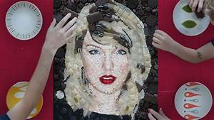 Taylor Swift Candy Art Challenge - YouTube