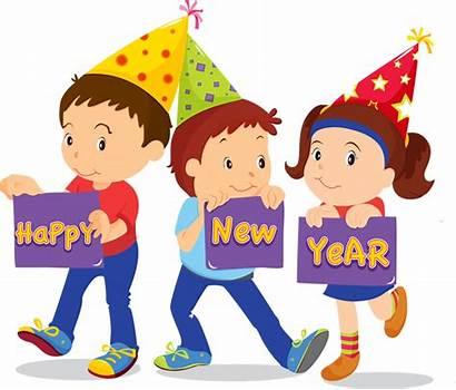 Clipart Happy Celebration Eve January Hope Clip