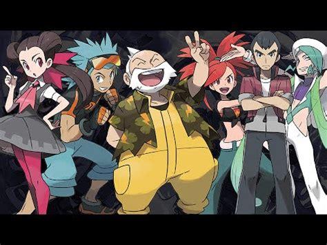 battle  gym leader pokemon omega ruby alpha sapphire