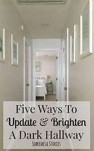 Five Ways To Update And Brighten A Dark Hallway DIY Home