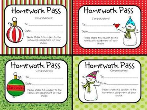 homework pass template inexpensive gift ideas for students 18 budget friendly suggestions
