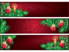 decorative christmas banners vector vector graphics blog