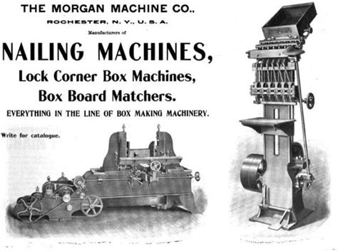 morgan machine    ad nailing machines lock