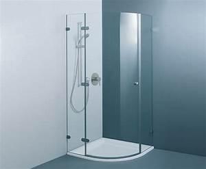 Paroi De Douche 1 4 De Cercle 90x90 : douches en verre format paroi de douche quart de cercle ~ Edinachiropracticcenter.com Idées de Décoration