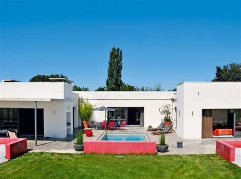 maison moderne en u moderne en u