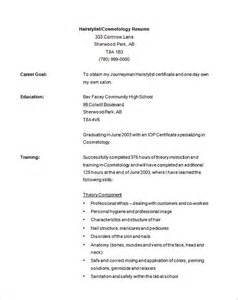 free hair stylist resume exles hair stylist resume template 9 free sles exles format free premium