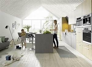 Küchenzeile Mit Insel : sch ller musterk che k chenzeile mit insel ~ Michelbontemps.com Haus und Dekorationen